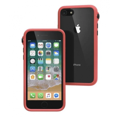 Case Catalyst Impact Protection Drop,Shockproof SLIM for APPLE iPhone SE 2020, 8, 7 - COREL RED - CATDRPH8COR