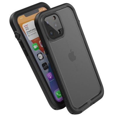 Case Catalyst Waterproof Total Protection for iPhone 12 Pro 6.1 - BLACK - CATIPHO12BLKP