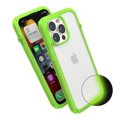 Case Catalyst Influence Protection for APPLE iPhone 13 PRO 6.1 - Neon Glow In The Dark - CATDRPH13GITDMP