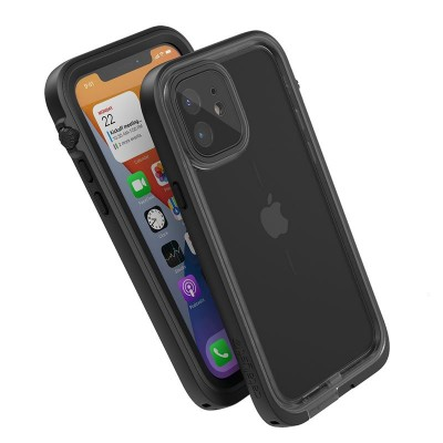 Case Catalyst Waterproof Total Protection for APPLE iPhone 12 6.1 - BLACK - CATIPHO12BLKM