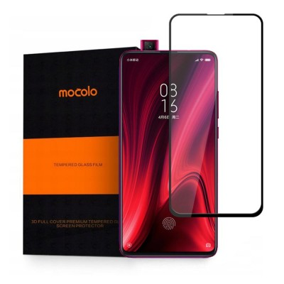 Screen Protector Fullcover MOCOLO CF TG+3D 0.3MM Tempered Glass for XIAOMI MI 9T - BLACK