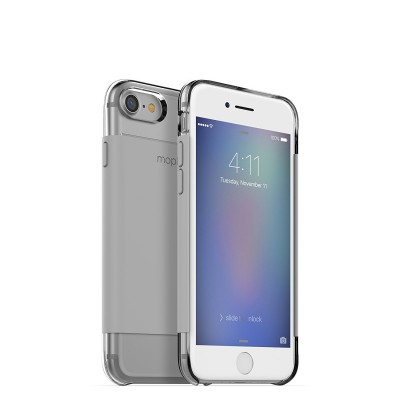 Case Mophie Base Wrap ULTRA THIN for iPhone 7 - GREY STONE - 3686_BC-WRP-IP7-STN