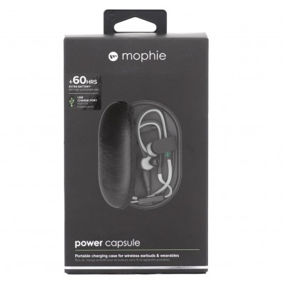 Mophie Travel case and charging case Power Capsule - BLACK - MP-3512PWRCPS14K