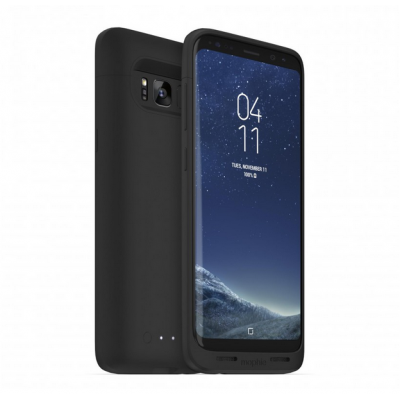 Case Mophie juice pack with extra battery 2.950MAH for SAMSUNG GALAXY S8 - BLACK -  4017_JP-SGS8-B