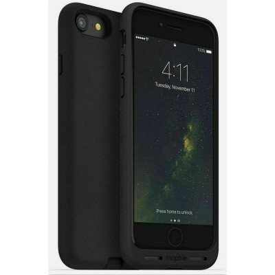 Case Mophie INDUCTION CHARGING Charge Force Leather for iPhone 7,8,SE 2020 - BLACK - 4019CHRG-FRCE-BLK-1