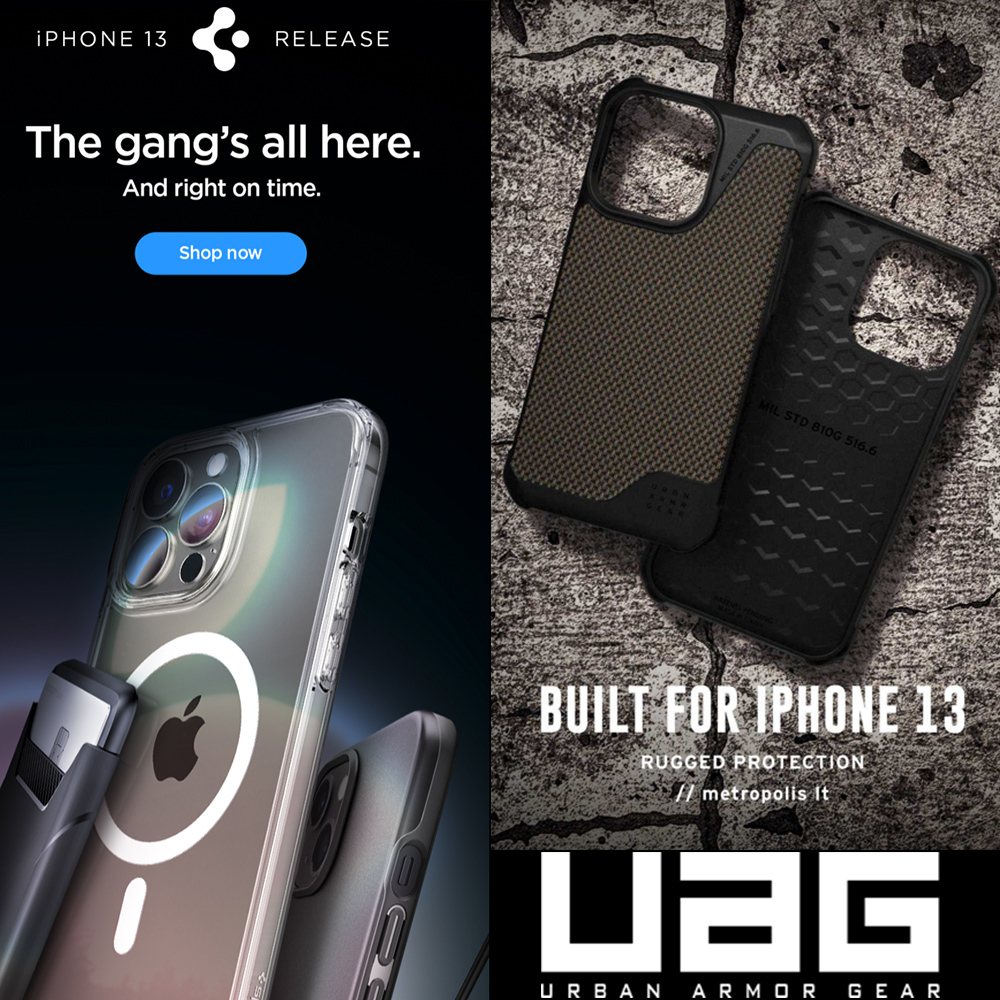 Βranded cases for all new iPhone 13 series!