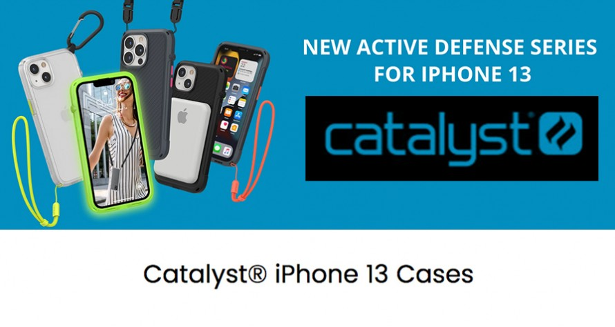 CATALYST cases for iPhone 13!