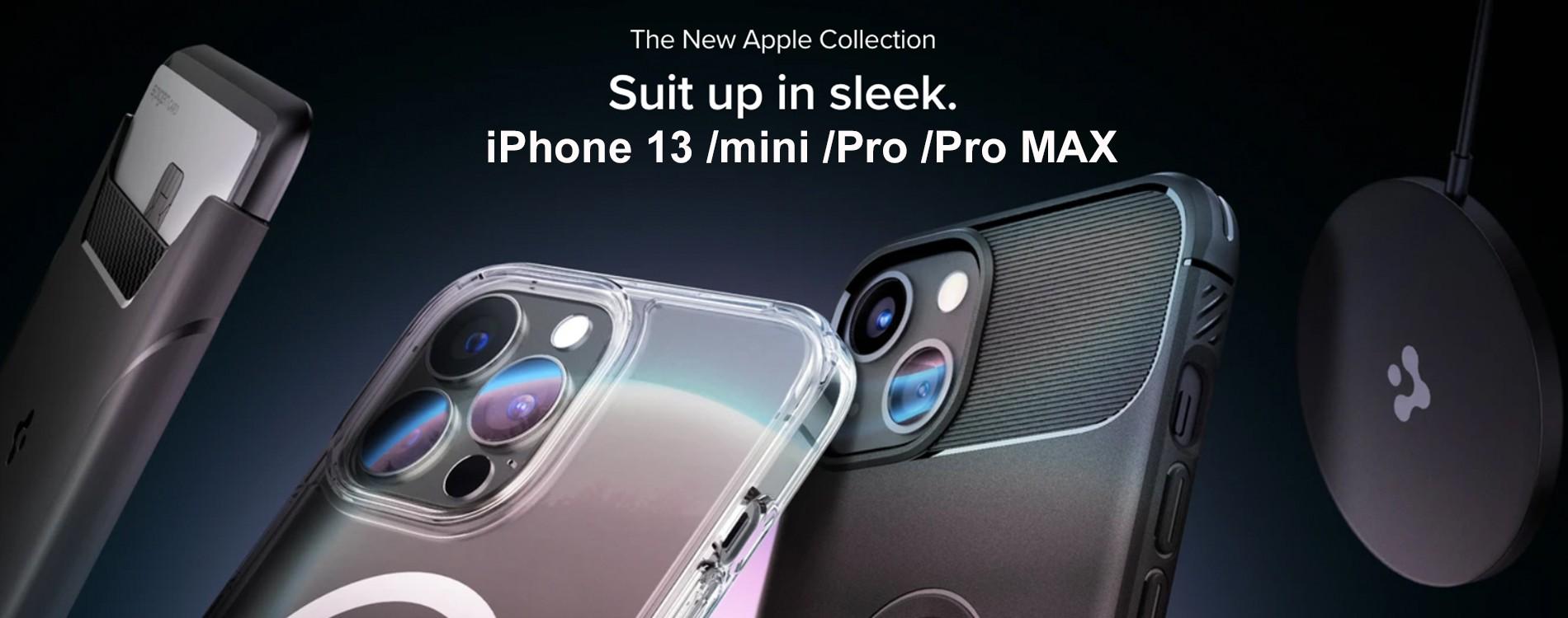 SPIGEN Cases for iPhone 13 Series!