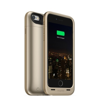 Case Mophie juice pack air for iPhone 6 , 6S (2,750mAh) - Gold White