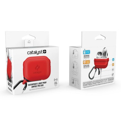 Case Catalyst Waterproof for Apple AirPods PRO - RED - CATAPDPRORED