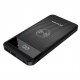 Awei 10000mAh External Battery POWER BANK με ασύρματο φορτιστή Qi  - BLACK - P55K
