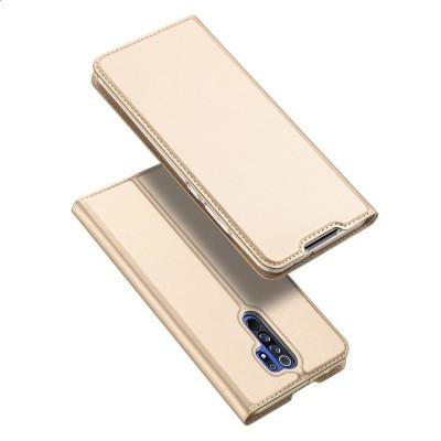 Case DUX DUCIS SkinPro Folio Wallet for XIAOMI REDMI 9 - Gold
