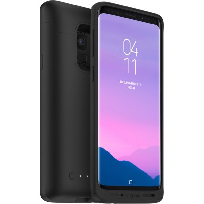 Case Mophie Juice Pack Slim Battery QI Wireless Charging for Samsung Galaxy S9 PLUS 2070 mAh - BLACK - 401001481